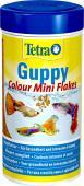 Tetra  Guppy Colour Flocken 100 Корм для усиления насыщенности окраса Гуппи и других живородящих рыб