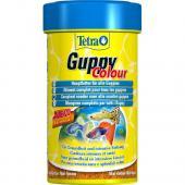 Tetra  Guppy Colour Flocken 250 Корм для усиления насыщенности окраса Гуппи и других живородящих ры