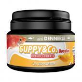 Dennerle Guppy & Co. - Основной корм в форме гранул для гуппи и других живородящих карпозубых рыб, 1