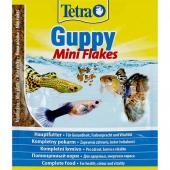 Tetra Guppy Flakes 12 г. Корм для гуппи
